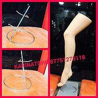 Хромированная подставка для манекена(ножка )