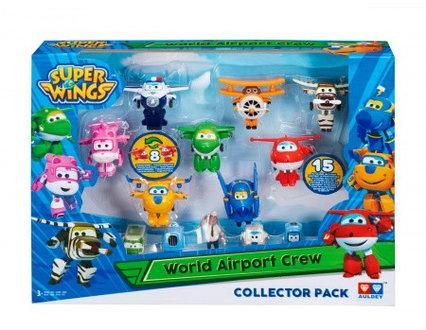 Набор «Команда Аэропорта» 8 мини-трансформеров и 7 фигурок