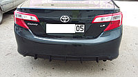 Диффузор на задний бампер для Toyota Camry 50 USA американец, фото 1