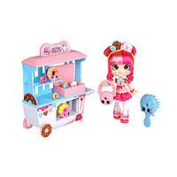 """Игровой набор """"Шопкинс"""" Shoppies - Пончиковая лавка Донатины с куклой и аксессуарами"""