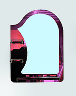 Зеркало на стенное однотонное