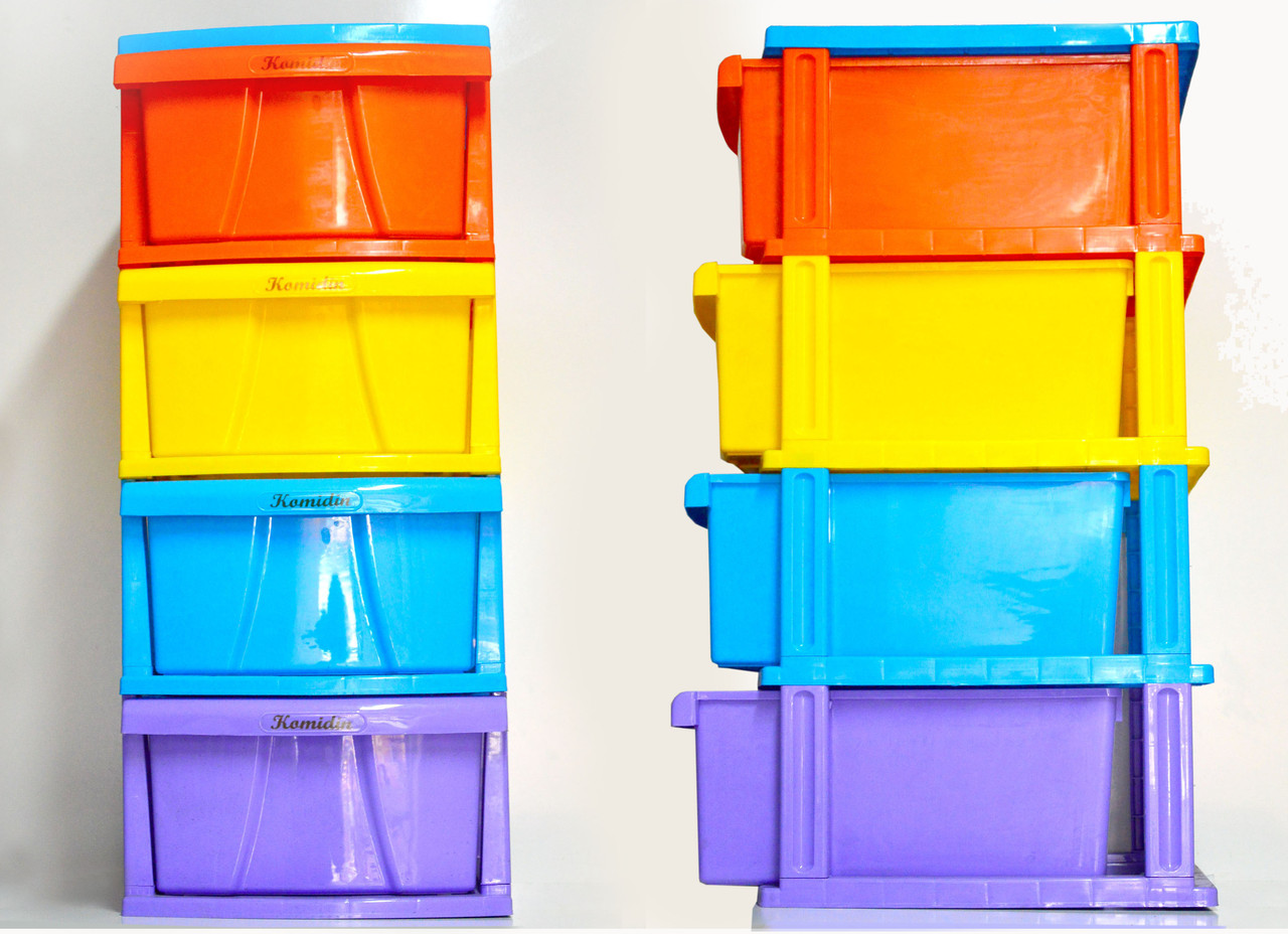 Пластиковый комод для белья