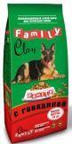 Clan Family 15кг Говядина сухой корм для собак всех пород, фото 1