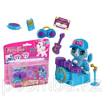 """Игровой набор """"Клуб Kitty"""" с аксессуарами - Голубая кошка Ava"""