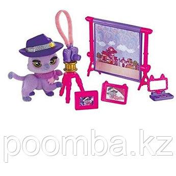 """Игровой набор """"Клуб Kitty"""" с аксессуарами -Фиолетовая кошка Aubrey"""