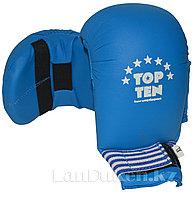 Перчатки для каратэ Top Ten (синие) XL