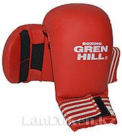 Перчатки для каратэ Green Hill (красные) L
