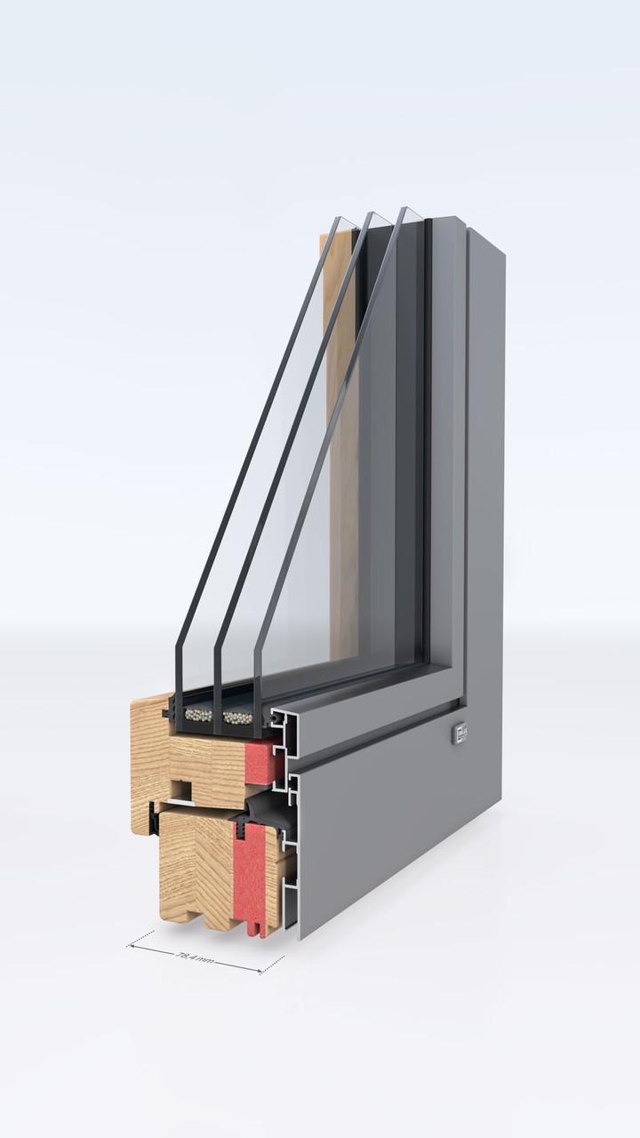 Деревянные окна-Unilux DESIGNLINE 0.7