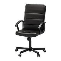 Офисный стул ТОРКЕЛЬ черный ИКЕА, IKEA, фото 1
