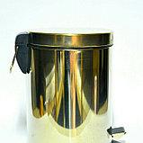 Урна с педалью метало пластик ( 3-5-8-12 литровые ), фото 2
