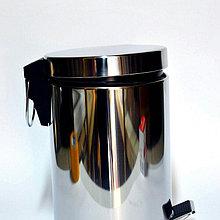 Урна с педалью метало пластик ( 3-5-8-12 литровые )
