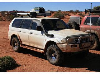 Усиленная подвеска Mitsubishi Montero Sport и Challenger 1996-2000