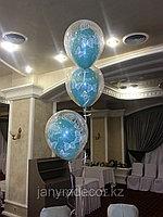 """Гелиевые шары """"шар в шаре"""", фото 1"""