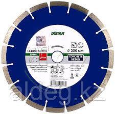 Сегментный диск по бетону (SINTERED)  цвет : голубой