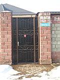 Кованные ворота из металла, фото 2