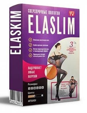 Нервущиеся капроновые колготки ELASLIM 60 DEN - фото 3