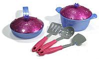 Набор посуды Кухонный сервиз Волшебная Хозяюшка (7предметов) в сетке