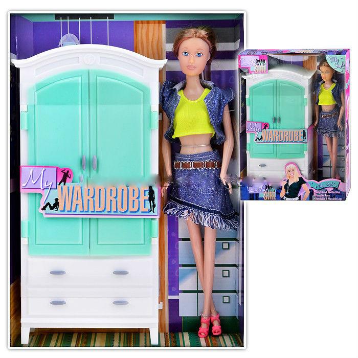 """Кукла с мебелью """"Гостинная"""", в коробке"""