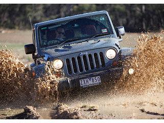 Усиленная подвеска Jeep Wrangler Tj (1997-2006)