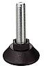 Винт регулировочный, сталь, М 10 х 50 мм, под шестигранник