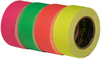 Флуоресцентный скотч GAFFER TAPE UV (GAFFA FLUORESCEND)