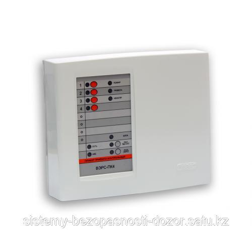 Прибор приемно-контрольный охранно-пожарный ВЭРС-ПК 4П версия 3.2