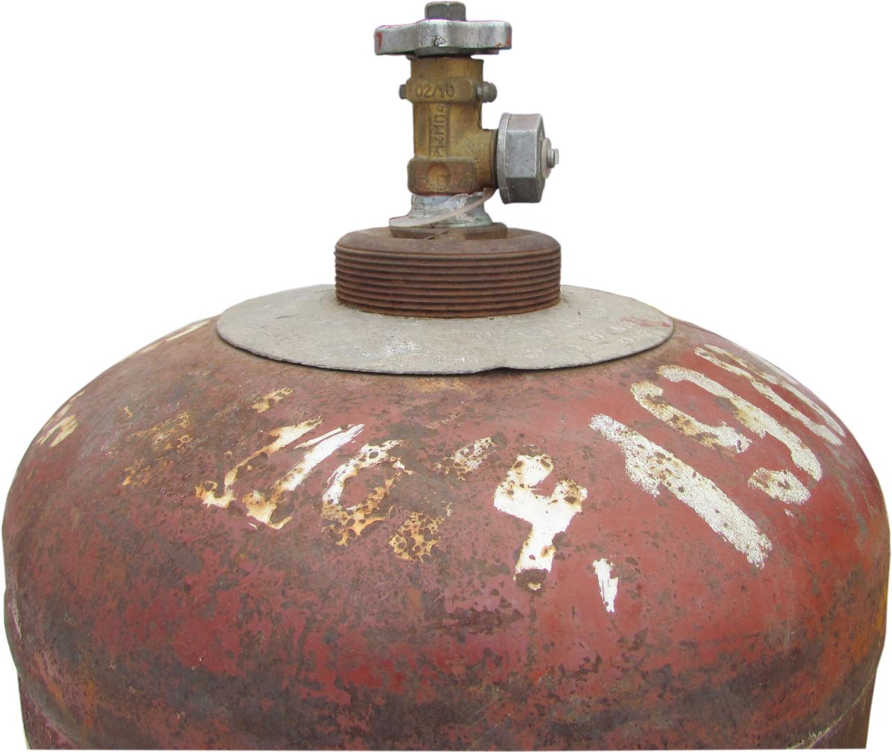 БАЛЛОН пропановый (газовый) 50л Б/У тара