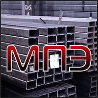 Труба 80х60х4 стальная профильная электросварная ГОСТ 30245-03 13663-86 8639-82 сталь 09г2с 3 прямоугольная