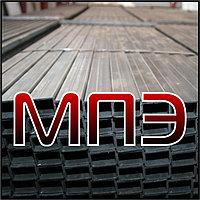 Профильная труба 140х100х6 прямоугольная стальная ГОСТ 13663-86 30245-03 сварная сталь 3 20 09г2с размер