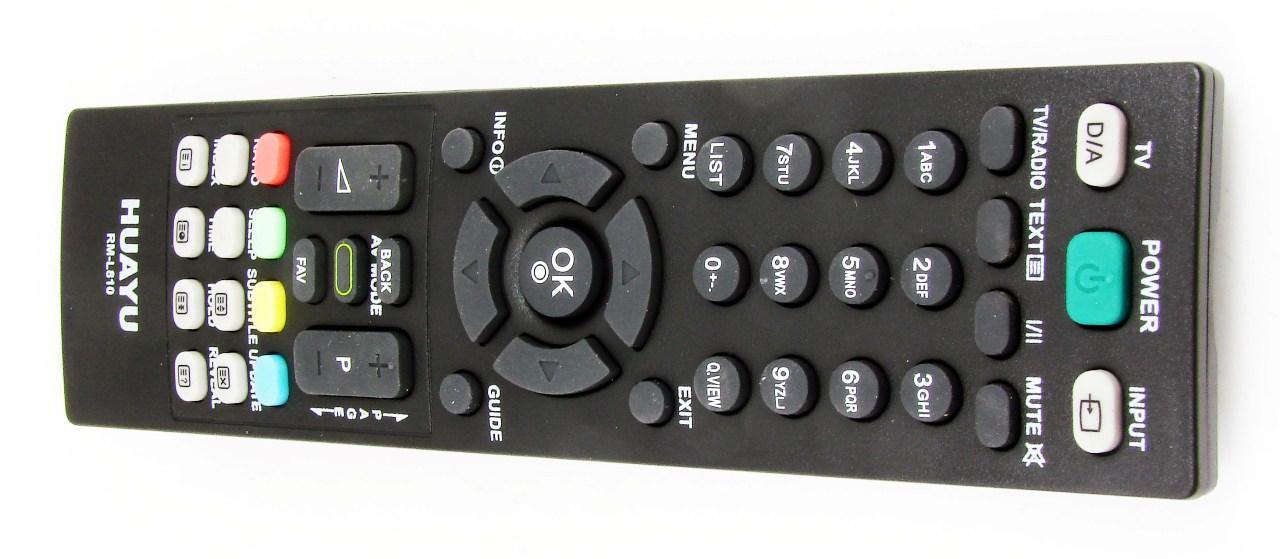 Пульт для телевизора LG (HUAYU) RM-L810 (LCD) универсальный