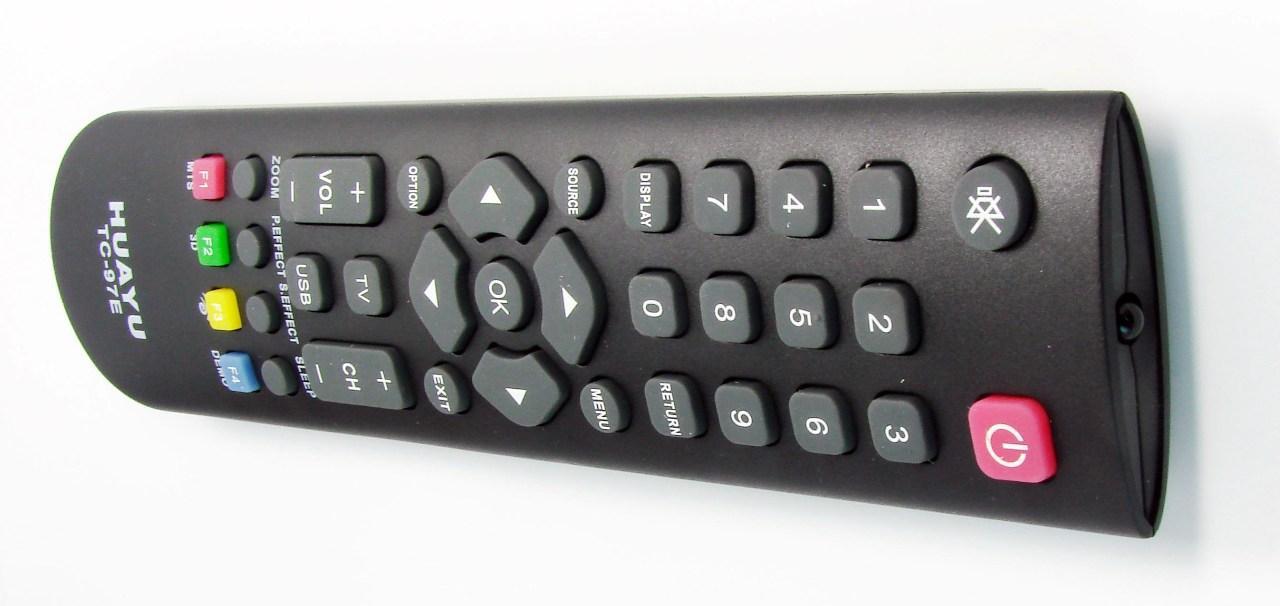 Пульт для телевизора TCL (HUAYU) TC- 97E универсальный