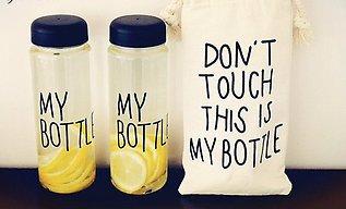 Бутылка для жидкости My Bottle в чехле, Алматы, фото 2