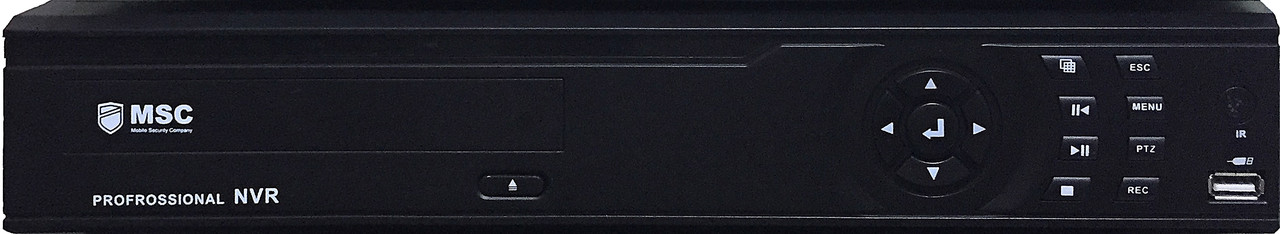 32 канальный IP NVR Сетевой видеорегистратор (H.264) MSC MS-N5000S-24CH