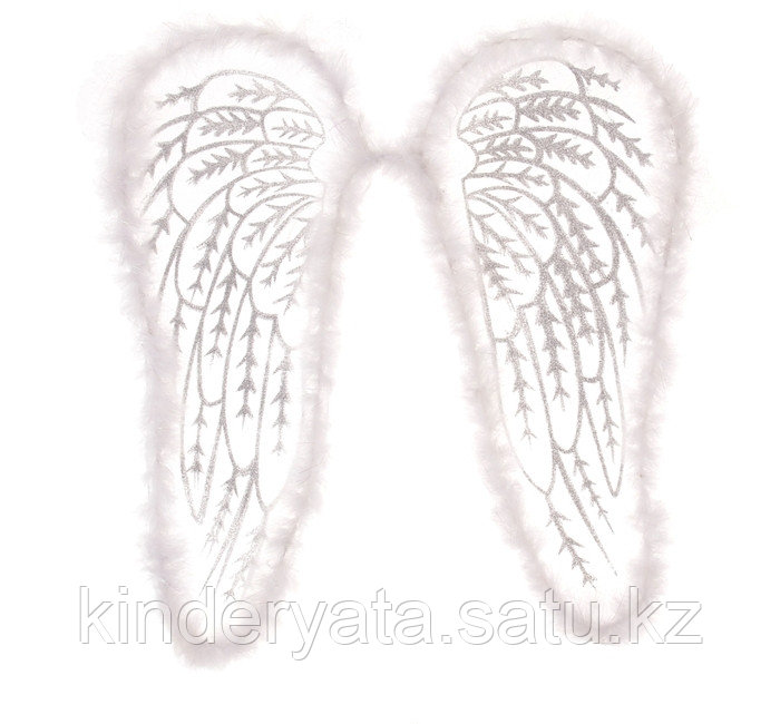 "Карнавальные крылья ""Ангела"", цвет белый"