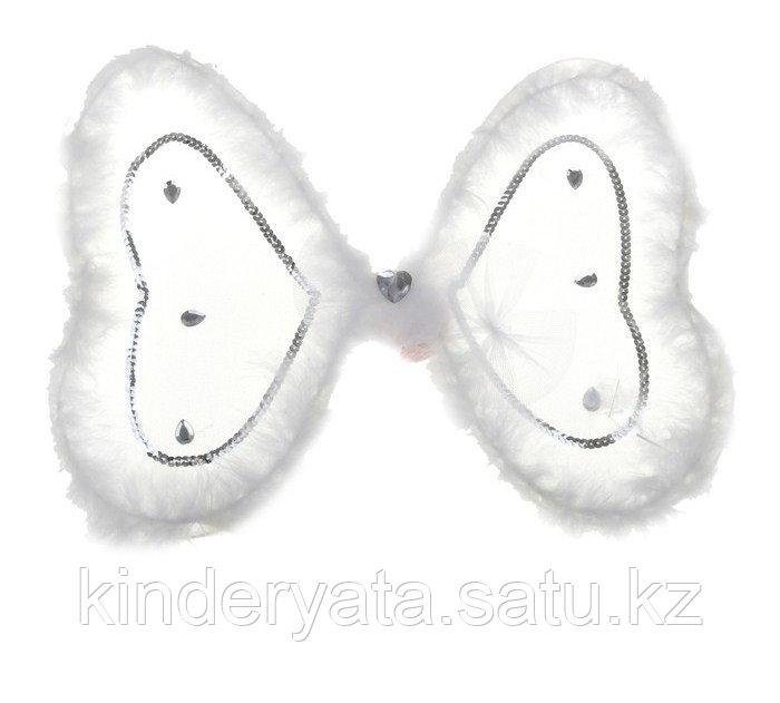 Карнавальные крылья бабочки с узорами, блестками