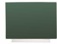 Школьная доска настенная одноэлементная для письма мелом 1512х1012мм