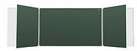 Школьная доска настенная пятиэлементная для письма мелом и маркером 3032х1012мм