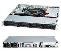 Сервер Supermicro CSE-813MFTQС-R407CB /X11SCL-F/E-2224/16GB/2x240GB SSD/2x2TB EXOS/2xGLAN /2x400W