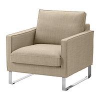 Кресло МЕЛБИ бежевый ИКЕА, IKEA , фото 1