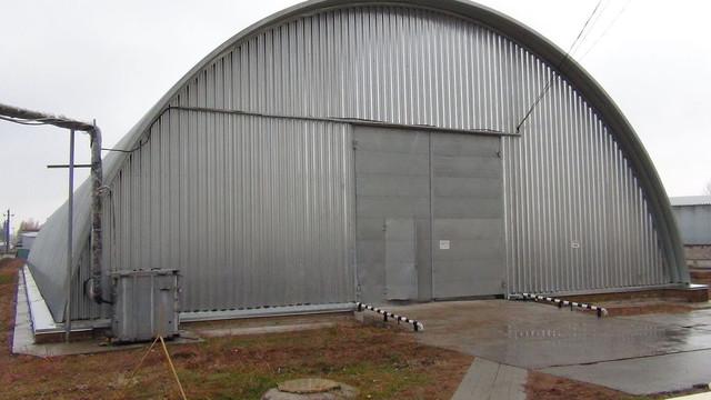 Механизация складов ангарного типа