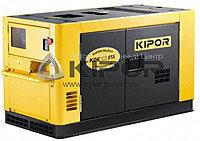 Дизельный генератор KIPOR KDE16STA+АВР (12 кВт), фото 1
