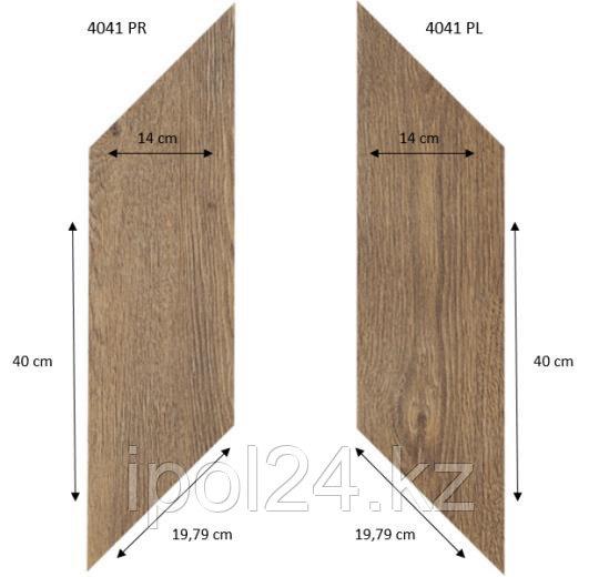 Виниловая плитка, Effekta Proffesional 8 мм ромбы правый и левый