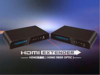LenKeng LKV378 SET (удлинитель HDMI, до 20км, оптоволоконный кабель, активный, комплект передатчик и приемник)