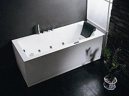 Ванна акриловая с гидромассажем EAGO AM217S (1500*1500*600)