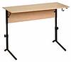 Стол ученический двухместный. Регулируемый по высоте (р.гр. №4-6)