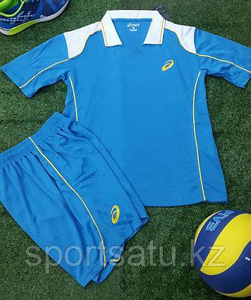 Волейбольная форма Asics синий