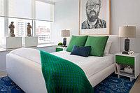 Зеленый цвет в спальне