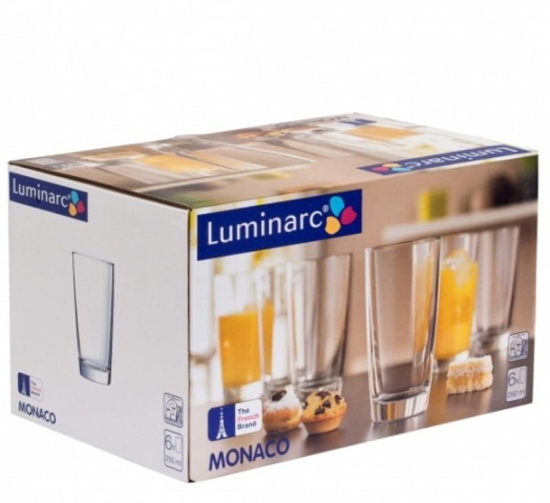 Набор стаканов Luminarc Монако 250 мл  6 шт (H5123/6)