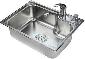 Кухонная мойка из нержавеющей стали EAGO SC5843D