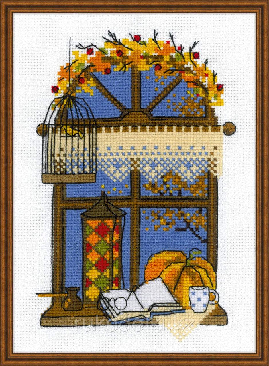 """Набор для вышивания крестом """"Осеннее окошко"""""""